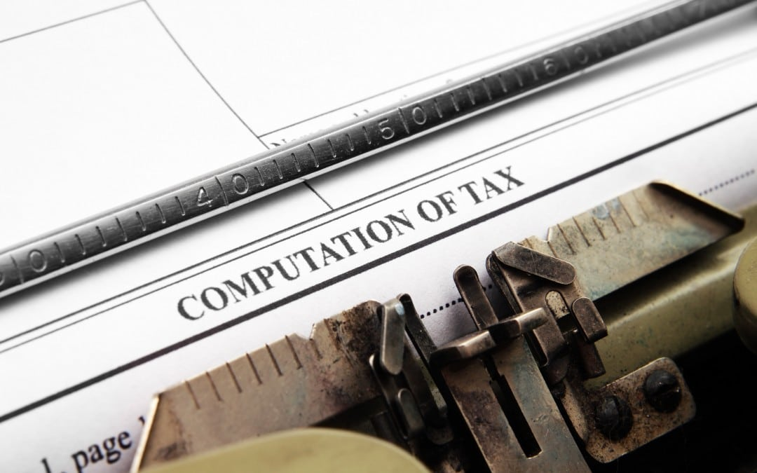 It's Time for Year-End Tax Planning