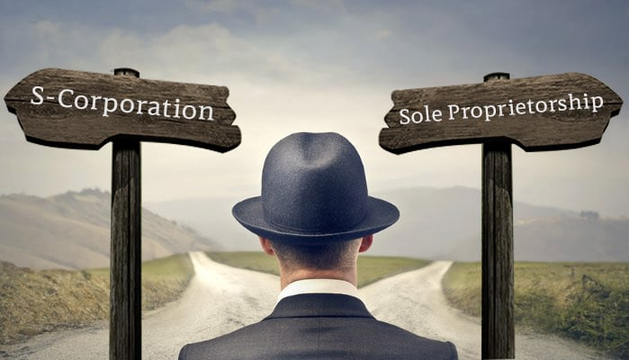 Solopreneur's Best Choice S-Corporation or Sole Proprietorship?