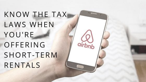 Section 280A and Airbnb – Tax Consequences