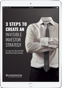 iPad with 3 steps to create an invisible investor strategy