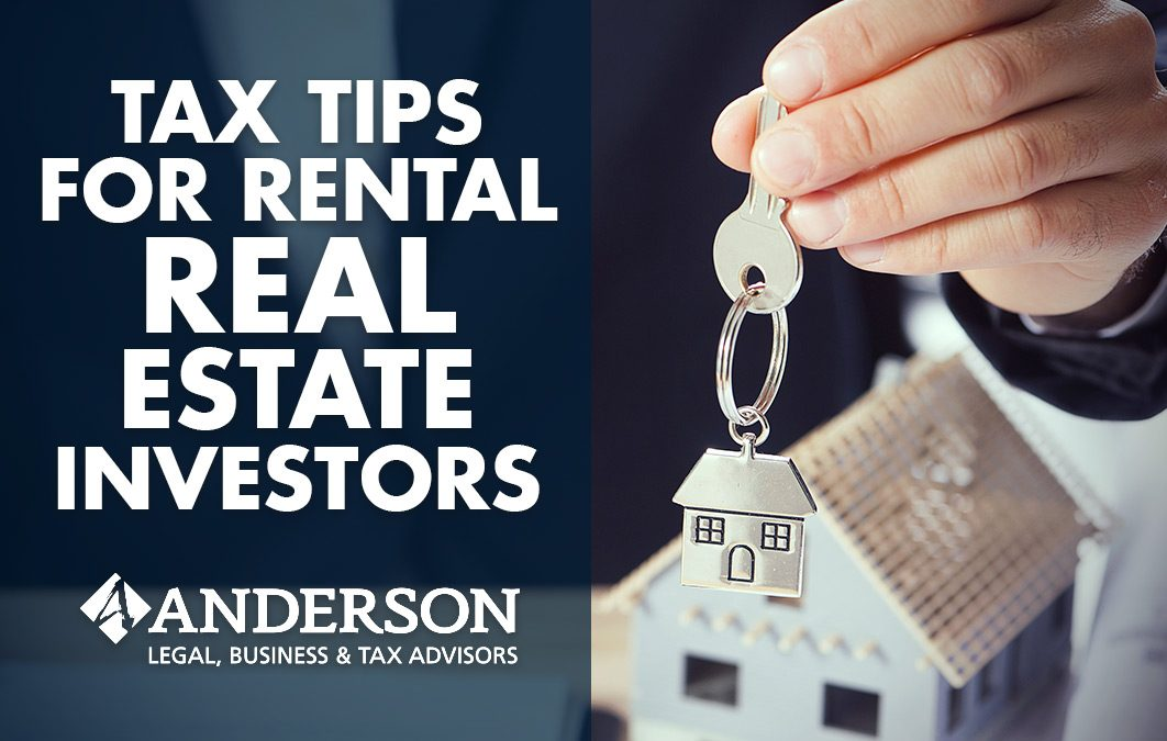 Tax Tips for Rental Real Estate Investors