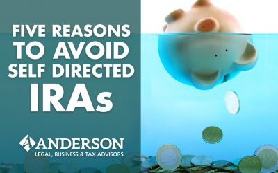 Five Reasons to Avoid Self Directed IRAs