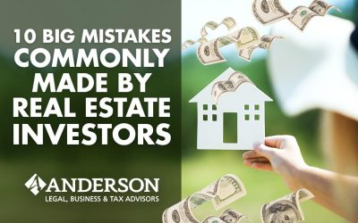 10 BIG Mistakes Commonly Made By Real Estate Investors