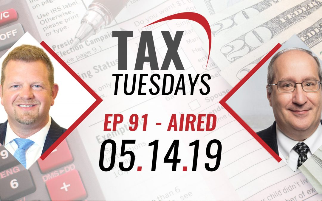 Tax Tuesdays with Toby Mathis 05-14-19