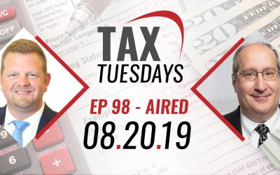Tax Tuesdays with Toby Mathis 08-20-2019