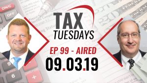 Tax Tuesdays with Toby Mathis 09-03-2019