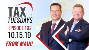 Tax Tuesdays with Toby Mathis 10-15-2019
