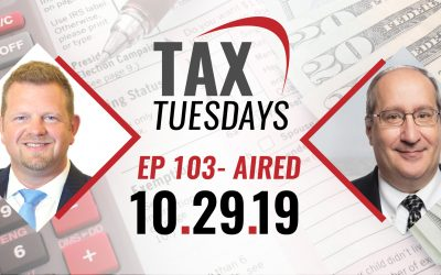 Tax Tuesday Episode 103