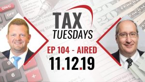 Tax Tuesdays with Toby Mathis 11-12-2019