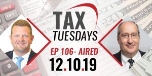 Tax Tuesdays with Toby Mathis 12-10-2019