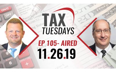 Tax Tuesday Episode 105