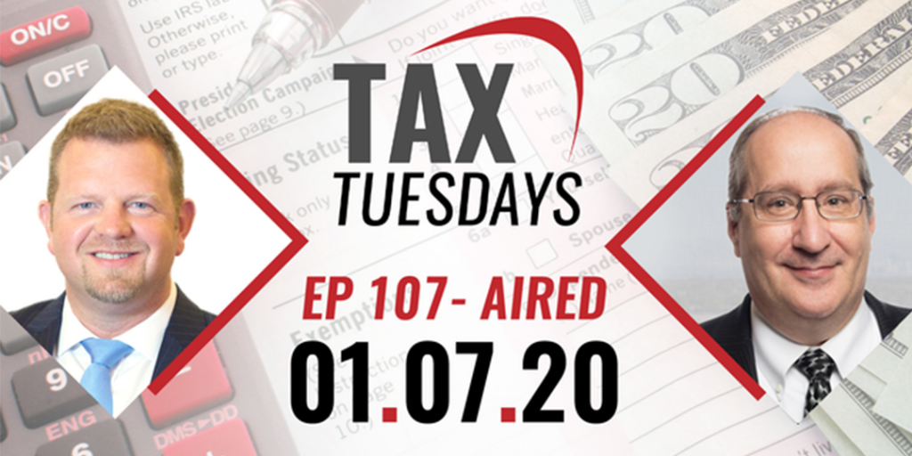 Tax Tuesdays with Toby Mathis 01-07-2020