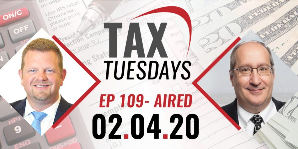 Tax Tuesdays with Toby Mathis 02-04-2020