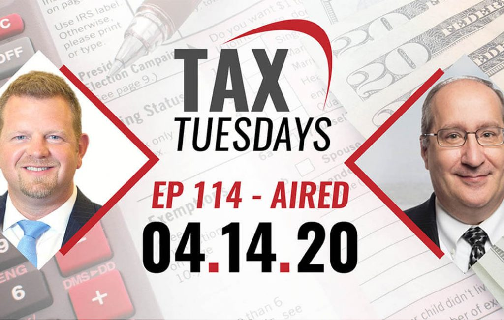 Tax Tuesday Episode 114: Special CARES Act Edition