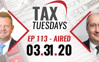 Tax Tuesday Episode 113