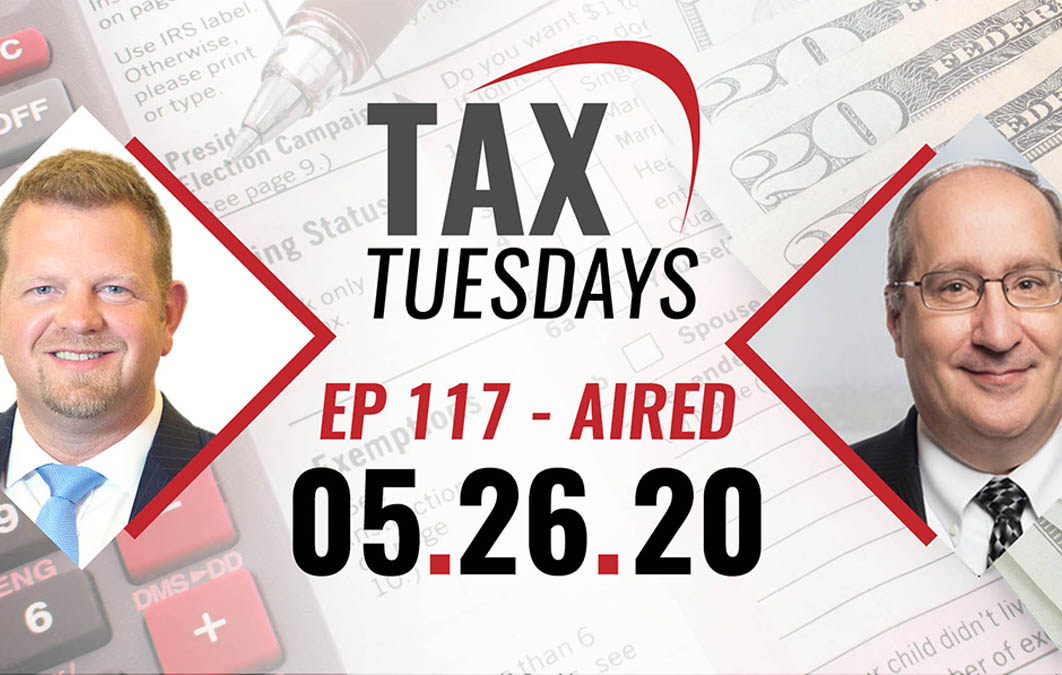 Tax Tuesday Episode 117