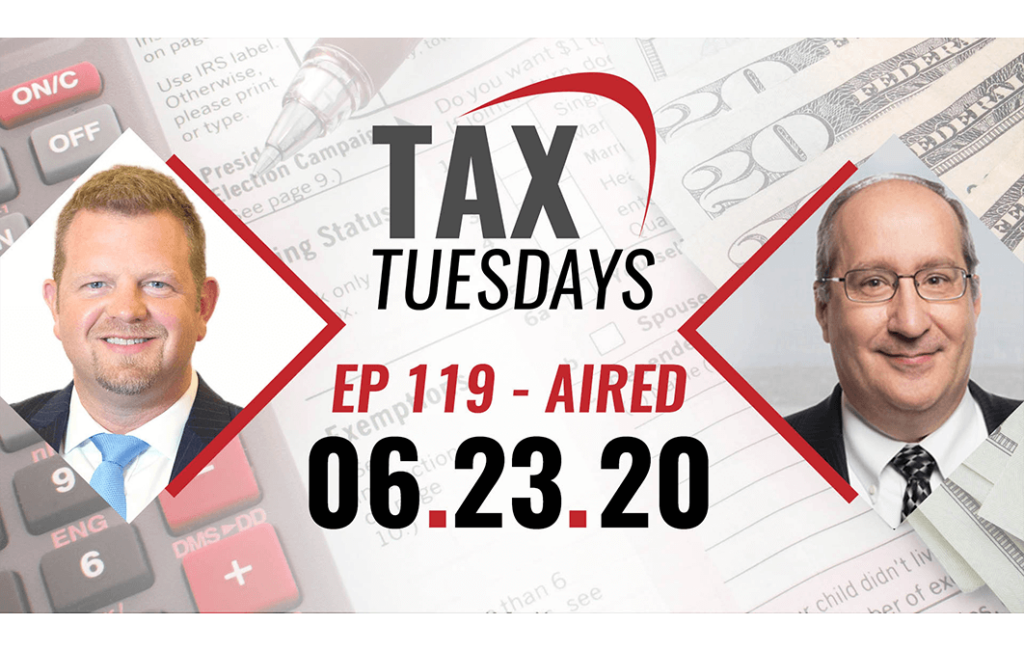 Tax Tuesday with Toby Mathis 06-23-2020