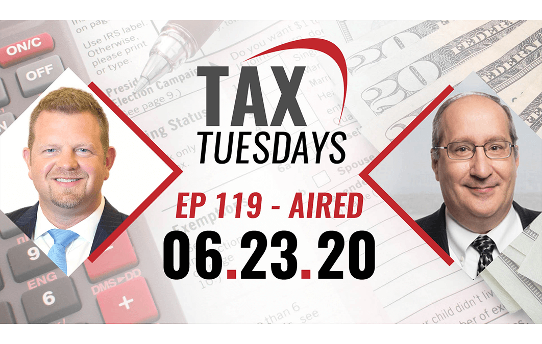 Tax Tuesday Episode 119