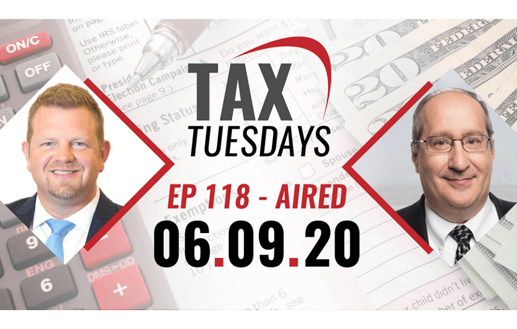 Tax Tuesday with Toby Mathis 06-09-2020