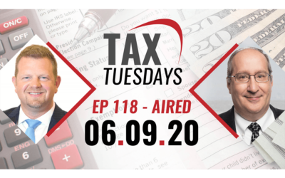 Tax Tuesday Episode 118
