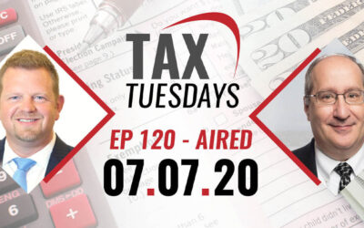 Tax Tuesday Episode 120