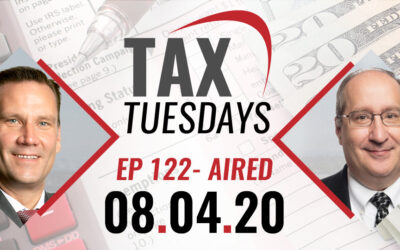 Tax Tuesday Episode 122