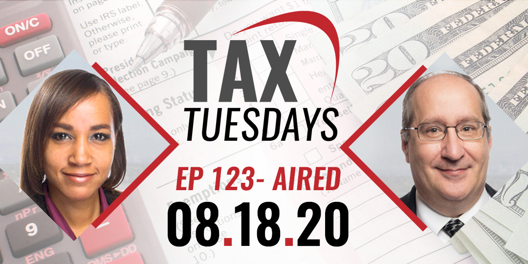 Tax Tuesday Episode 123