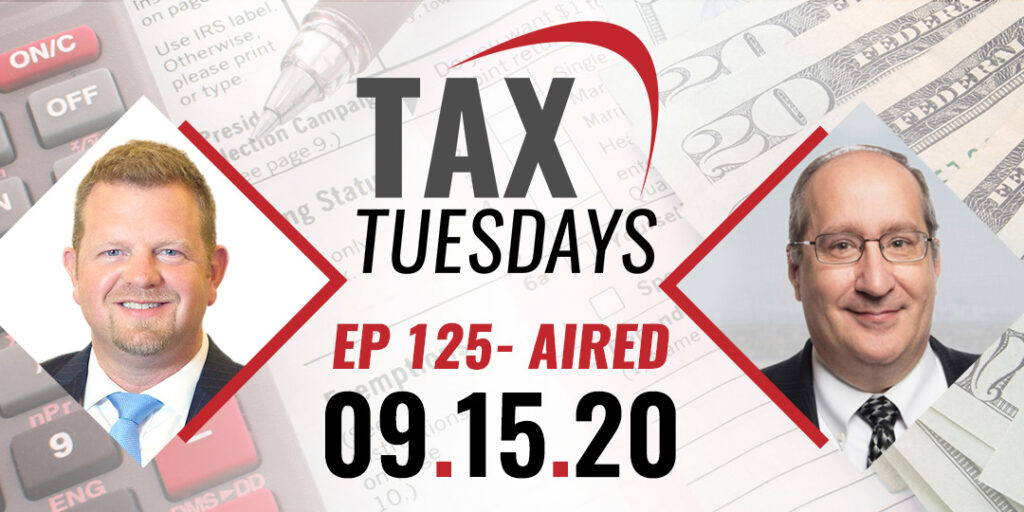 Tax Tuesday with Toby Mathis 09-15-2020