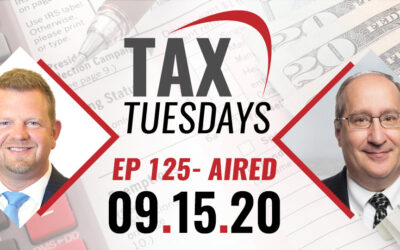 Tax Tuesday Episode 125