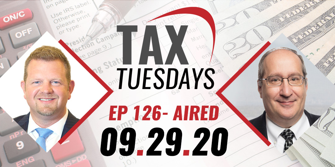 Tax Tuesday Episode 126