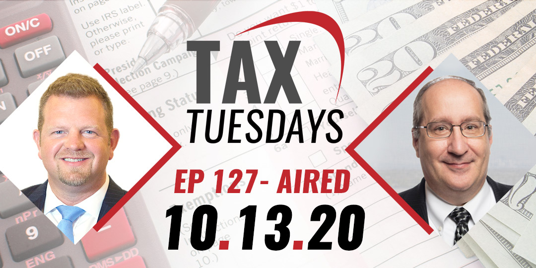 Tax Tuesday Episode 127