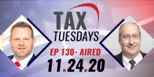 Tax Tuesday with Toby Mathis 11-24-2020