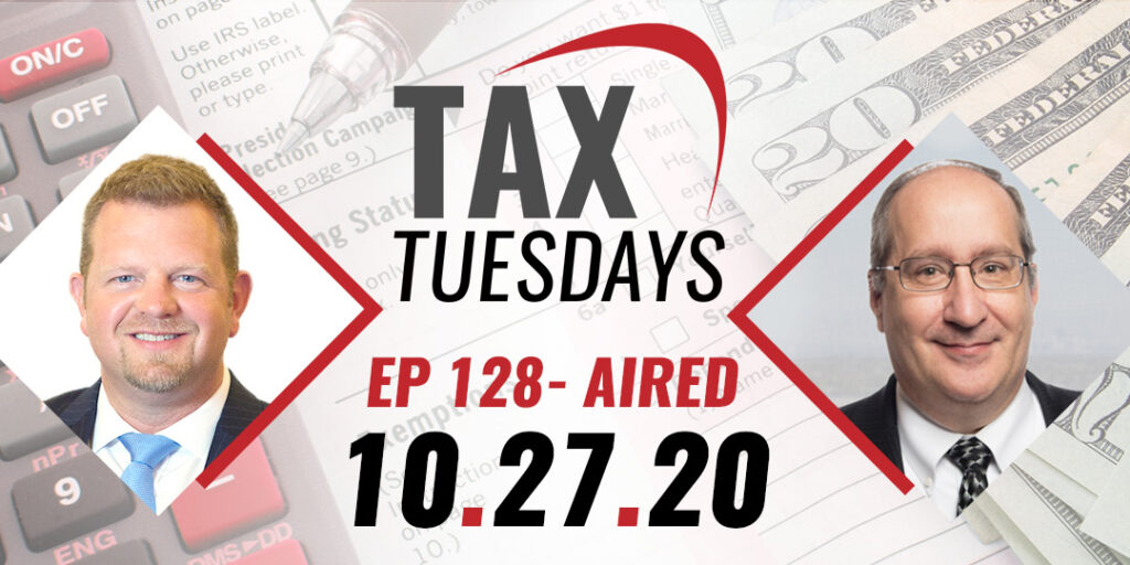 Tax Tuesday with Toby Mathis 10-27-2020