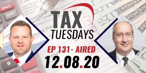 Tax Tuesday with Toby Mathis 12-08-2020