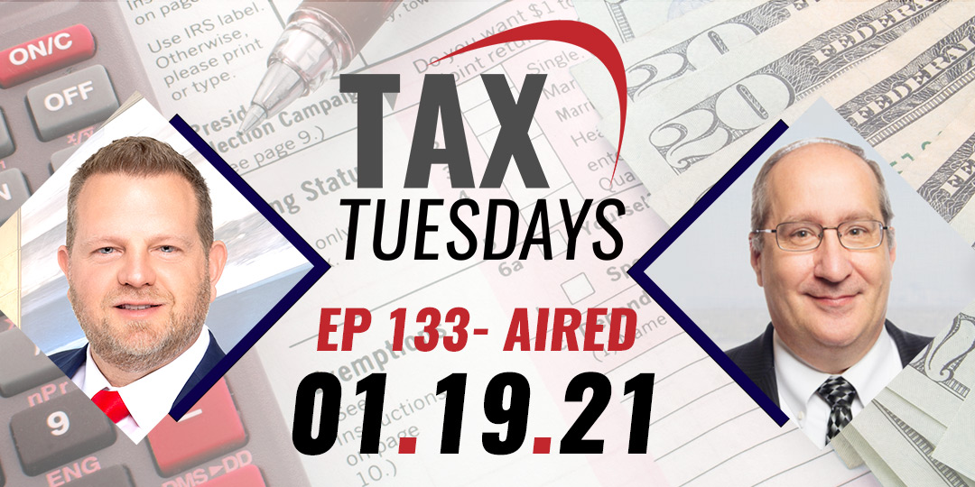 Tax Tuesday Episode 133