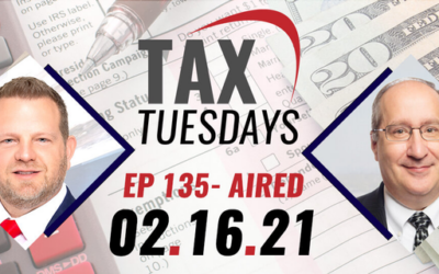 Tax Tuesday Episode 135