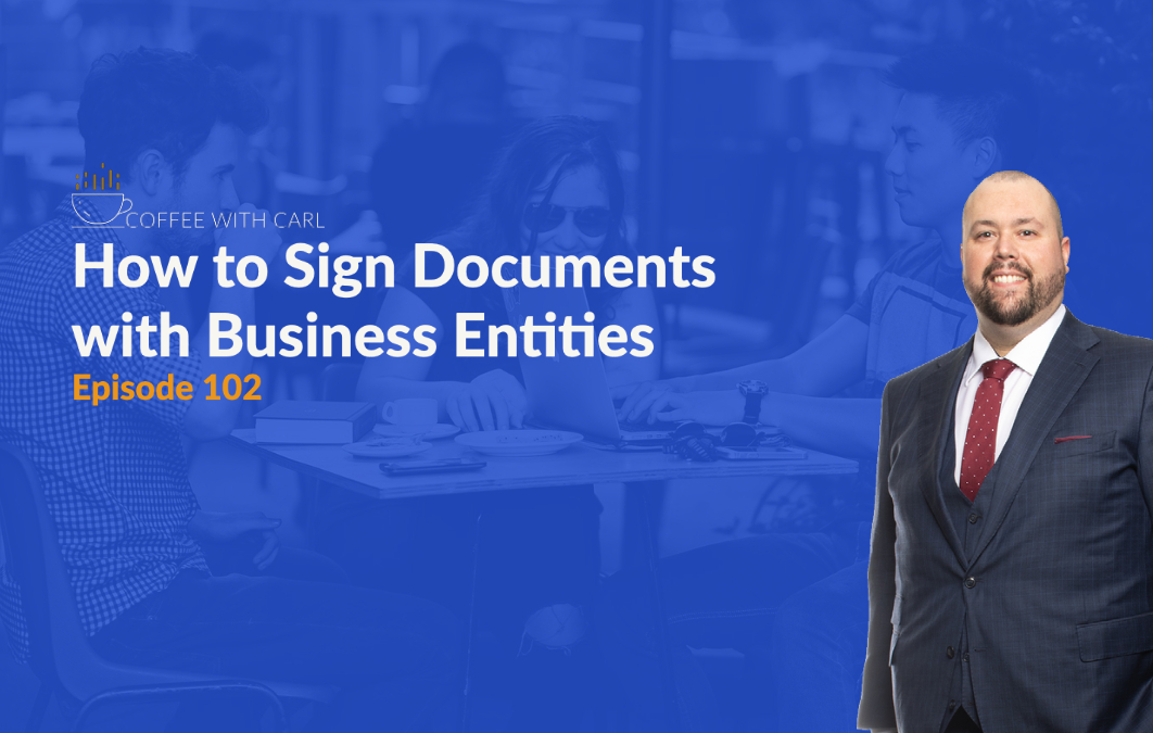 How Do I Sign my Business Documents?