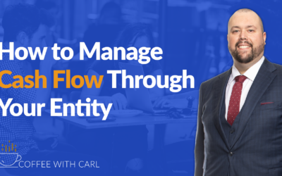 How To Manage Cash Flow Through Your Entity